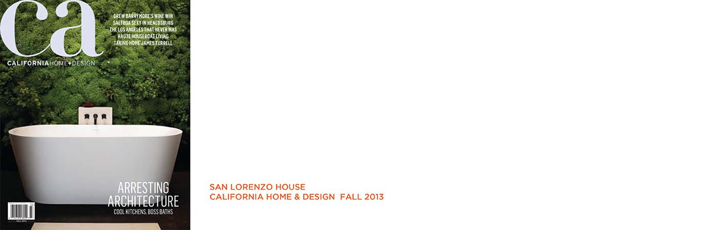 California Home And Design Magazine Awards Home Home Plans