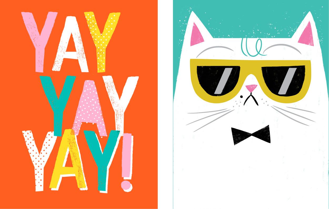 Hooray Today Minis - http://www.allisonblackillustration.com/