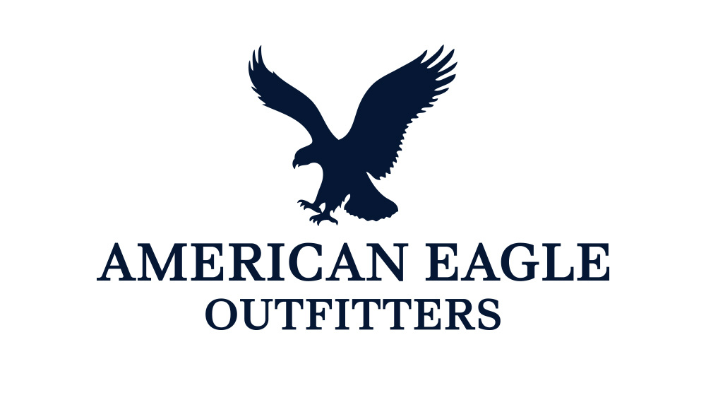 American Eagle Outfitters Associated Typographics
